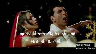 Sajde Kiye Hain Lakhon lyrics  Watsapp Status Video   Nainu Writes