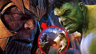 Посмотрите это, если вы думаете, что Танос победил Халка