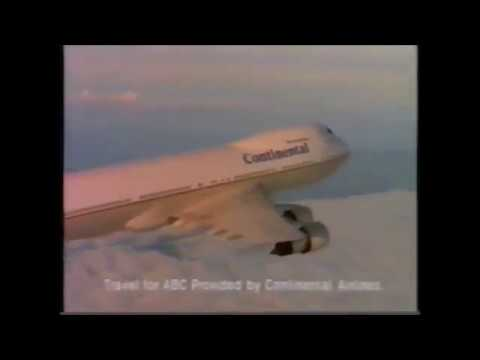 1993 Continental Airlines Commercial