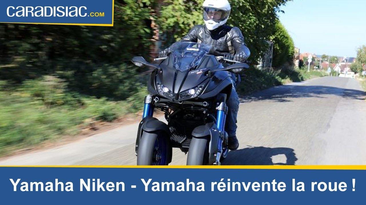 Essai Yamaha Niken Yamaha Réinvente La Roue Youtube