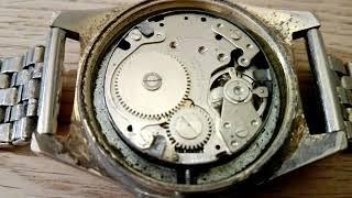 "ZERTIC ""super de luxe 21 waterproof antimagnetic swiss movt"" watch with BFG866, by OBERON WATCH Co"