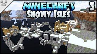 WEIRDEST Minecraft Stronghold EVER?! | Minecraft: The Snowy Isles (ULTRA-HARDCORE Survival) [#5]