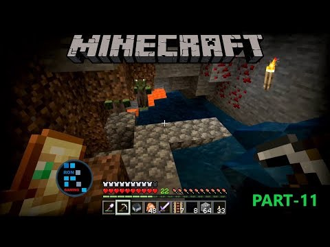 [Hindi] MINECRAFT GAMEPLAY   MINING FOR GOLD AND FUN MOMENTS#11