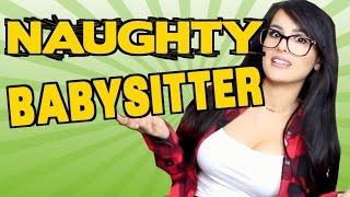 Naughty Babysitter!