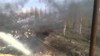 Пожар в Тынде микрорайоне Белнький(, 2016-05-08T14:24:57.000Z)