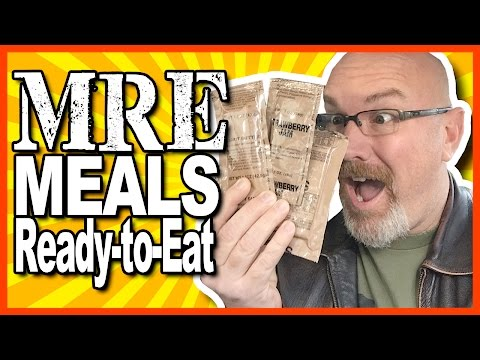 MRE ★ Meals Ready-to-Eat Review ★ a Tribute to our Armed Forces