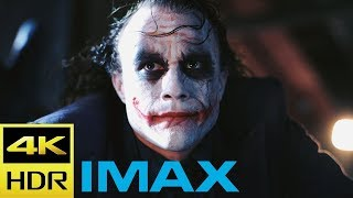 "Battle For Gotham's Soul | ""the Dark Knight""- Imax® 70mm Film"