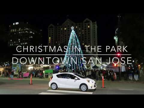Christmas in the Park in Downtown San Jose