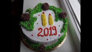 Новогодний тортик для  natalia schneider