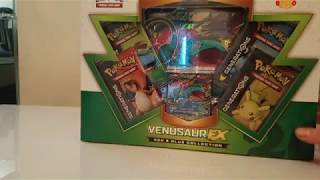 Pokemon Opening: Zygarde Complete Forme Pin Set & Venasaur Generations Box