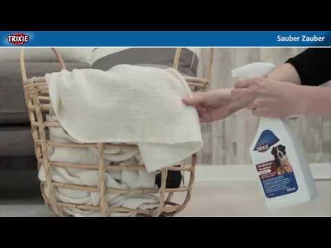 TRIXIE zaubert sauber - Katzenhaare und Hundehaare entfernen