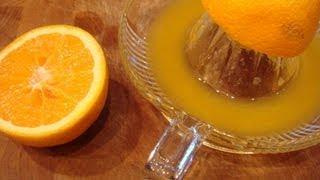 Mes Recettes Minceur : Vinaigrette à L'orange