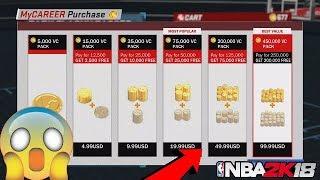 NBA 2K18 VC GLITCH FASTEST WAY TO GET VC FREE NBA 2K18 BEST METHOD