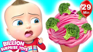 Do You Like Brocolli | +More Nursery Rhymes & Kids Songs | Learn with BST