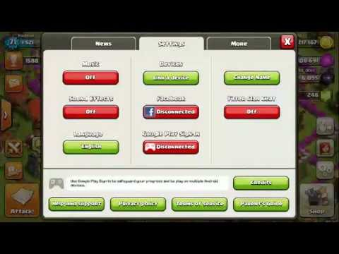 How To Play Multiple Clash Of Clan Account On An Android Device