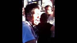 Hombre Cantando En El Camion Dragon Ball Z El Poder Nuestro Es