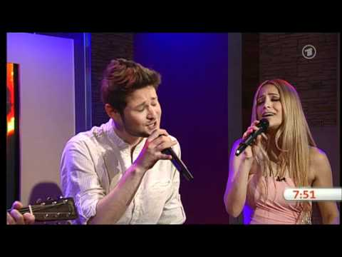 Eldar & Nigar - Eurovision 2011 Winners, Azerbaijan - ARD Morgenmagazin TV Show performance