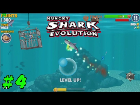 Hungry Shark Evolution Android/iOS Gameplay #4