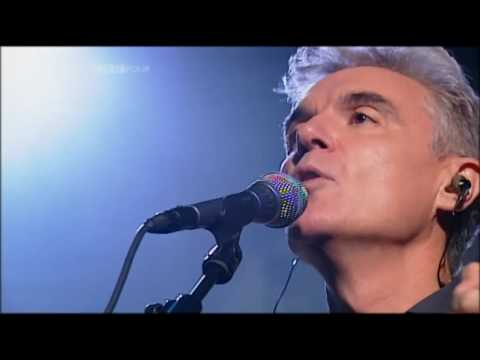 Talking Heads-And she was,live