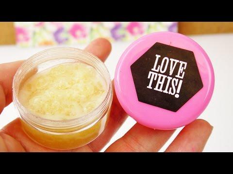 DIY Lippenpflege mit Honig & Kokosöl | natürliches Lippenpeeling selber machen | Frühling & Sommer