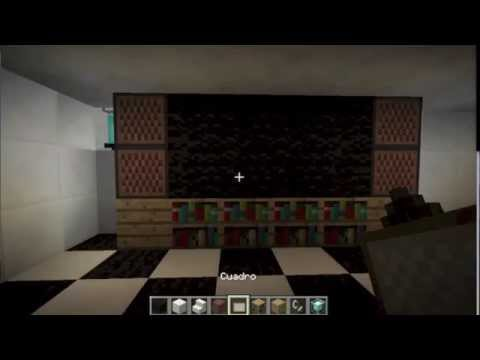 como hacer una television en minecraft youtube. Black Bedroom Furniture Sets. Home Design Ideas
