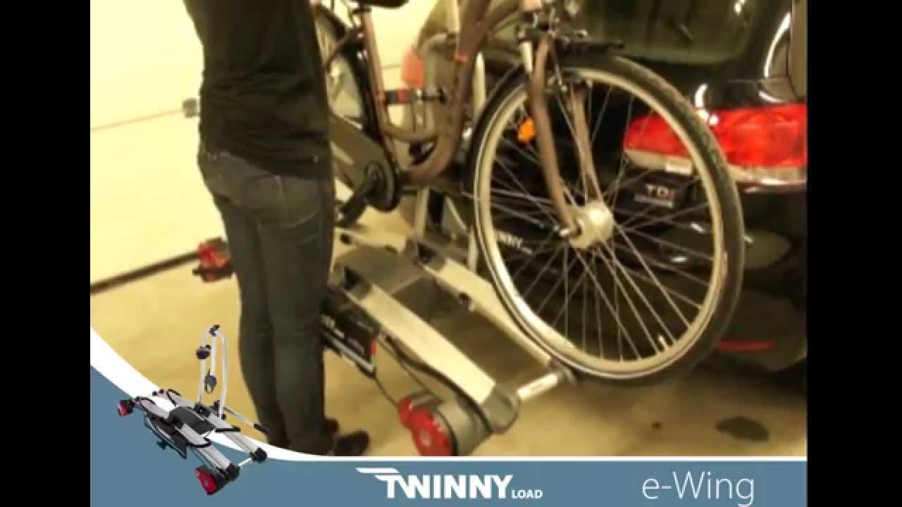 Welp TwinnyLoad e-Wing fietsendrager - YouTube MV-55