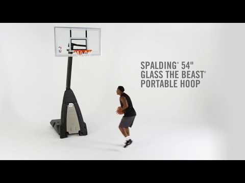 Spalding The Beast Portable Basketball Hoop System - 54