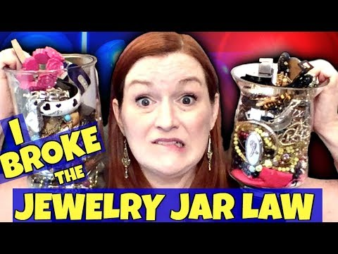 Goodwill Jewelry Jar Unboxing 2018 - Did I Waste My Money?