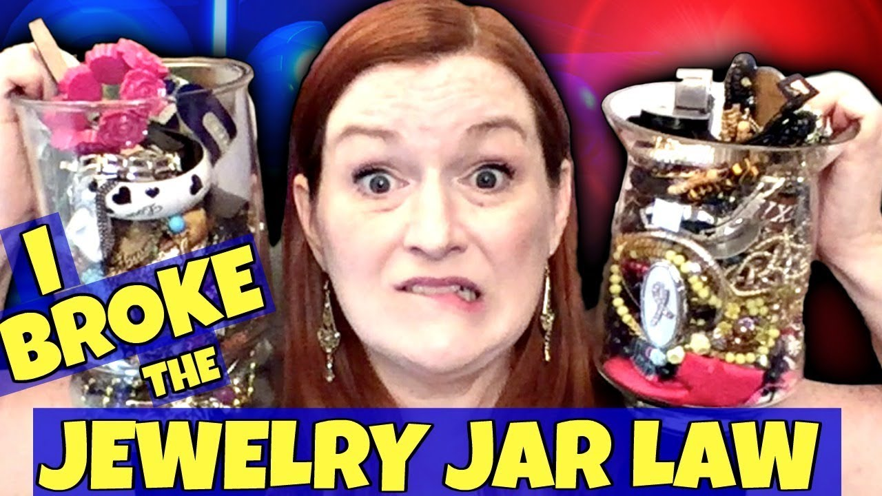 Goodwill Jewelry Jar Unboxing 2018 - Did I Waste My Money ...