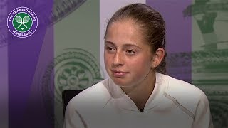 Jelena Ostapenko Wimbledon 2017 third round press conference
