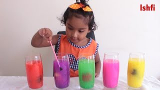 Learn Colors with Disney Princesses & Paint Color along Ishfi | Kids video