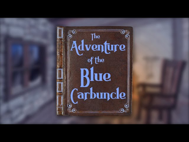 🎄🔎 A Sherlock Holmes Christmas: Grey Reads The Adventure of the Blue Carbuncle 🔍🎄