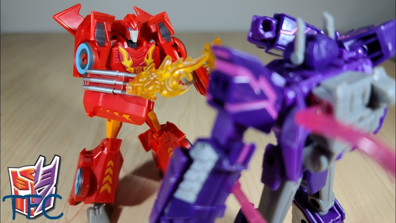 TF Collector Cyberverse Deluxe Hot Rod Review!