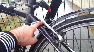 Orion Bisiklet Çamurluğu Taktık ( Profesyonel Bisiklet İçin)