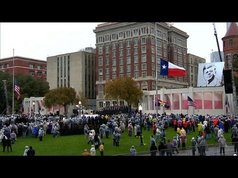 Dallas commemorates JFK's assassination 50 years later