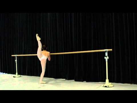 Natalie Barbis Ballet Audition 2014