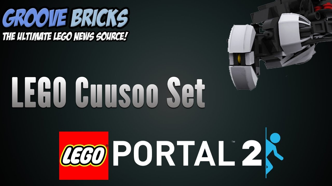 LEGO Portal 2 Sets Cuusoo - YouTube