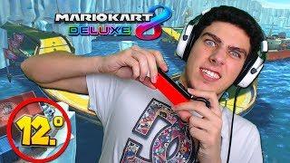 MI PRIMERA VEZ JUGANDO CON GIROSCOPIO EN MARIO KART 8 DELUXE | Nintendo Switch