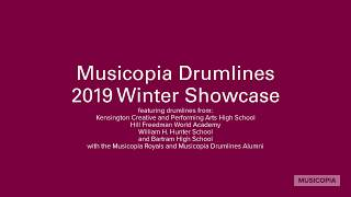 Musicopia Drumlines 2019 Winter Showcase Mashup