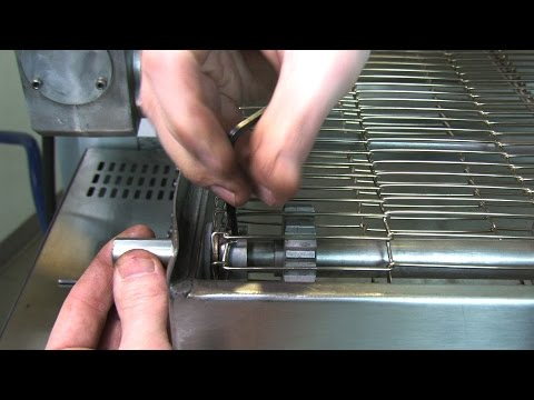 How To Fix Pizza Oven Conveyor By Replacing Shaft Adapter