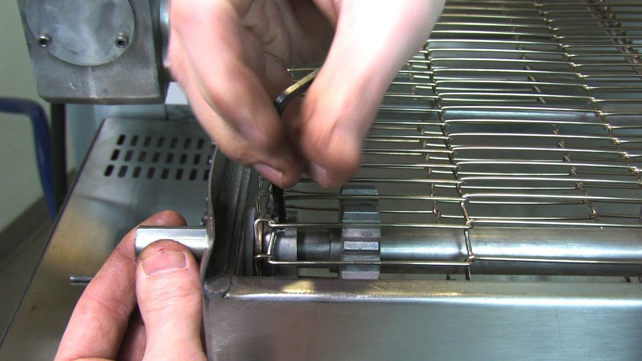 maxresdefault how to fix pizza oven conveyor by replacing shaft adapter youtube  at n-0.co