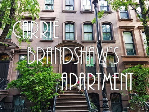 Carrie Bradshaw Apartment New York 2017 4k