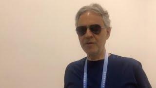 Interview with Italian tenor Andrea Bocelli