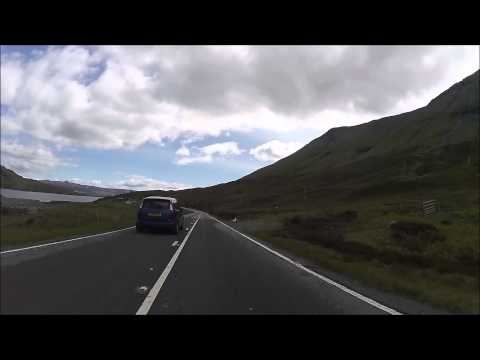 Portree to Broadford biking, Isle of Skye