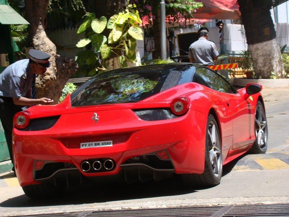 Ferrari 458 Italia Supercar | Bangalore | India