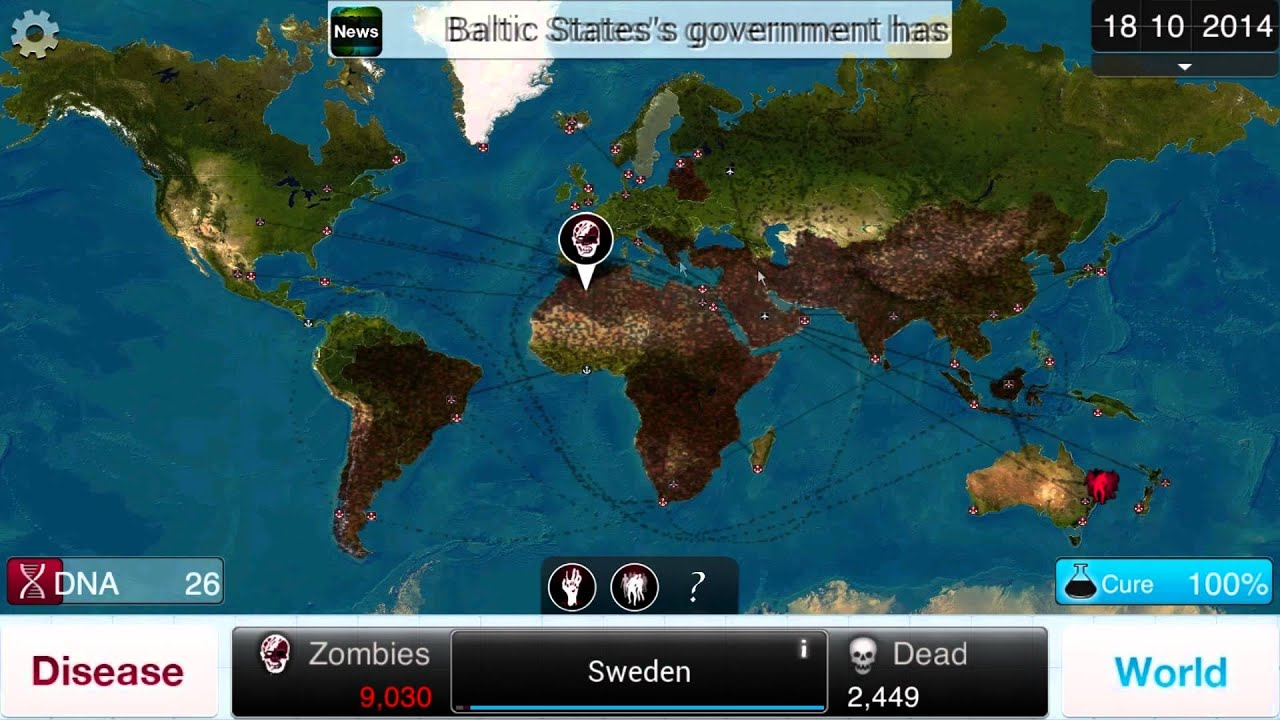 My Zombie Apocalypse Let S Play Plague Inc On Pc Necroa
