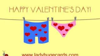 Funny Ecards Happy Valentine's Day Love Animated E-cards Free Ecards LadyBugEcards.com