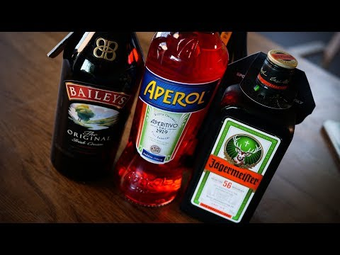 Вкусовщина(18+): Aperol, Jagermeister, Baileys