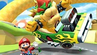 Mario Kart Tour - Mega Bowser Boss + Gold Mario (Coin Rush)