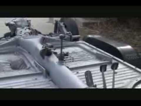 1970 Vw Karmann Ghia Floor Pan Replacement Part 1 Youtube